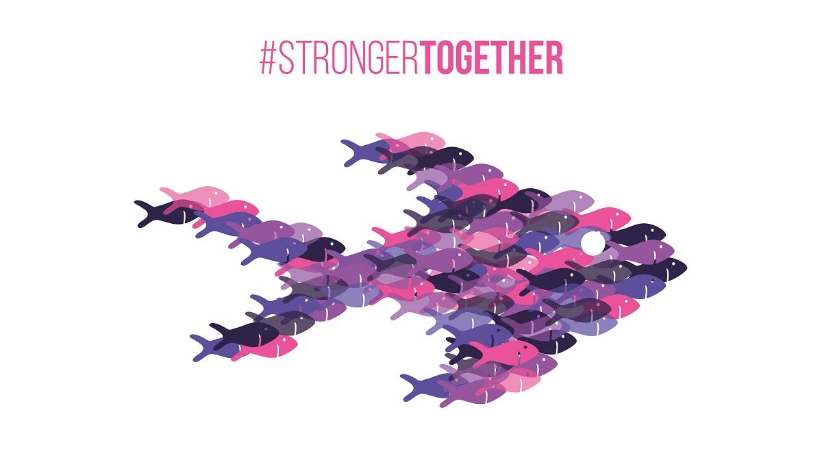 Stronger Together Optics logo